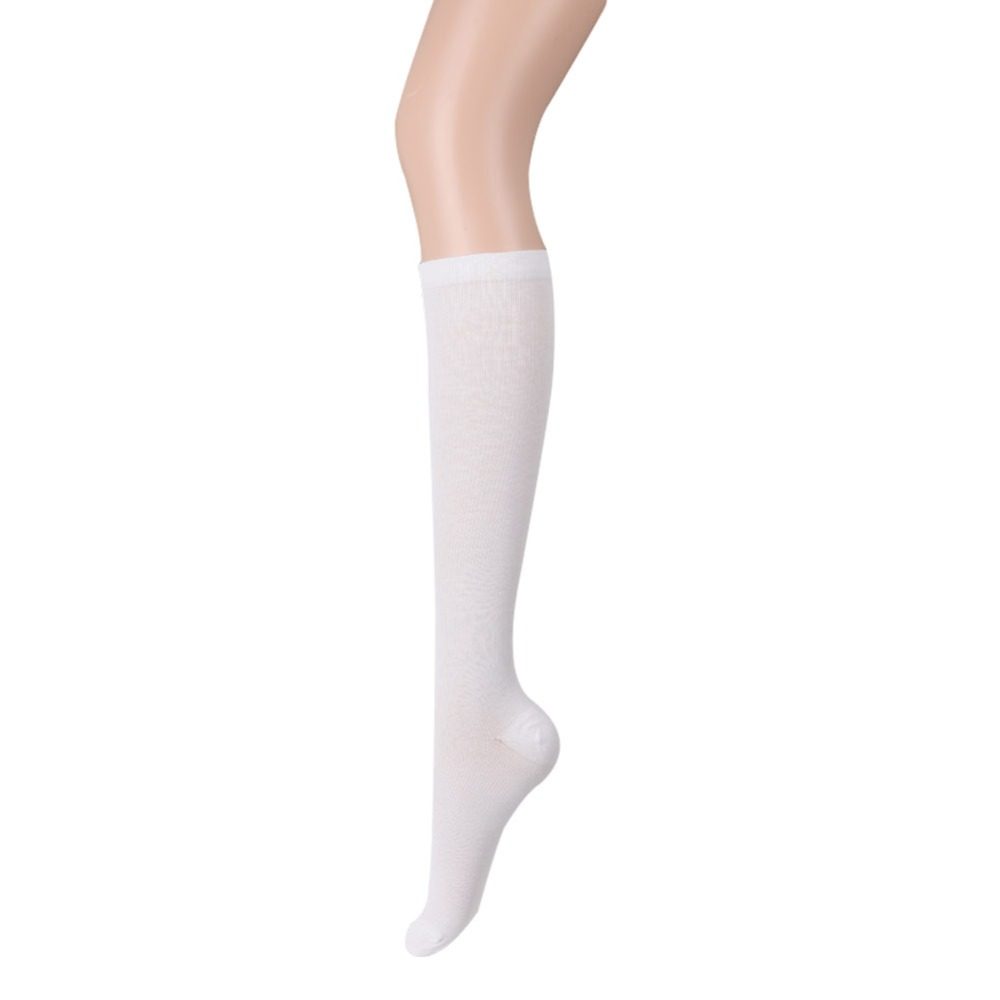 Women Men Anti-fatigue Knee High Elastic Compression Leg Support Stockings