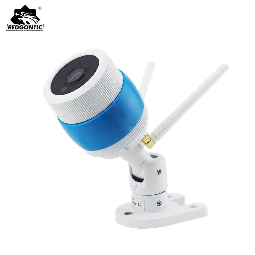 720P/960P Wireless Outdoor CCTV Bullet IP Camera WIFI HD Waterproof Home Security TF Card Slot Yoosee APP Double 2 antenna Metal