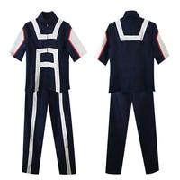 Anime Boku No Hero Academia Midoriya Izuku Bakugou Katsuki Uniform Cosplay Costumes My Hero Academia Sportswear