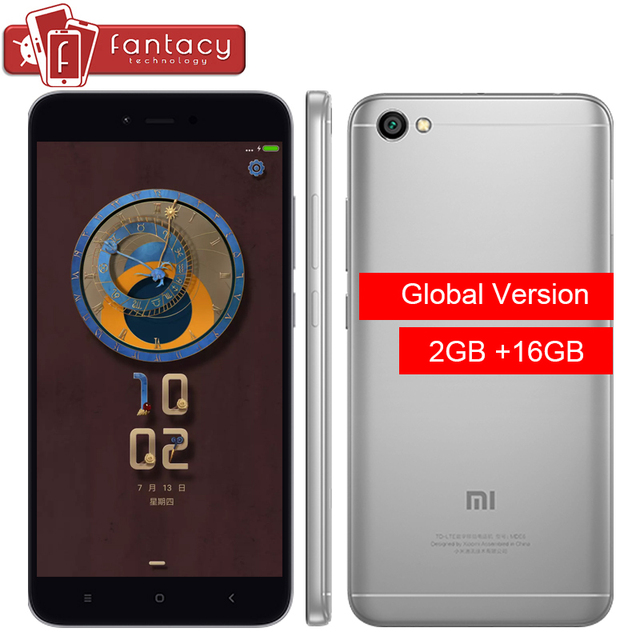 "Pre-Sale Global Version Xiaomi Redmi Note 5A 2G 16G 5.5"" Snapdragon 425 Quad Core Smartphone 1280x720p FDD LTE 4G 13MP OTA"