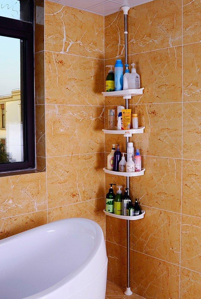Corner Shower Shelving Unit Rack
