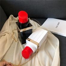 Red Lip Shape Evening Bag For Women Luxury Handbags Women Bags Designer Chains Crossbody Purses Box Shoulder Messenger Bags SAC цена в Москве и Питере