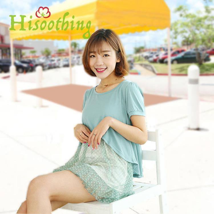 New Summer Slimming Patchwork Maternity Dress A-line Loose Expectant Mother Casual Dress Cotton Stitching Pregnant Women Clothes