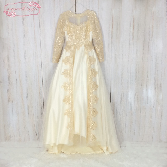 Aliexpress.com : Buy SuperKimJo Arabic Style Prom Dresses 2017 Long ...