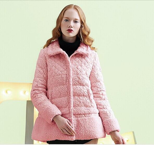 Manteau femme couleur corail