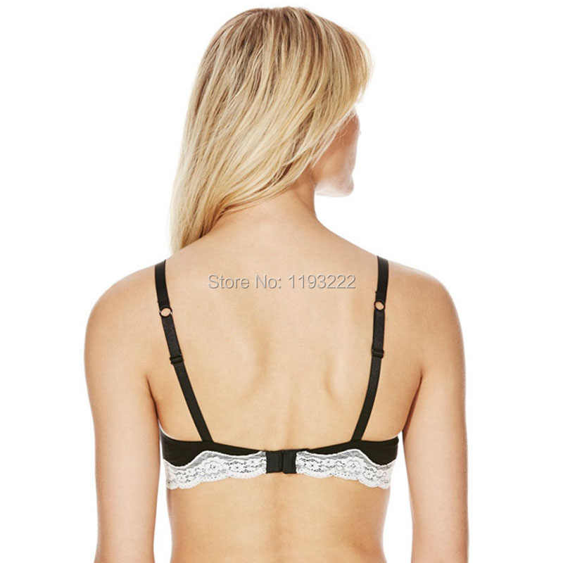 3f4cb7b8b3db5a ... Wholesale Girl Women Lady Plus Size B C D FF Lace Bra Cotton Soft Fresh  Pink Wire Free ...