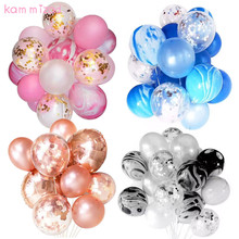 KAMMIZAD unicorn birthday balloons ramadan rose Gold Confetti Balloon wedding decoration babyshower latex balloon helium