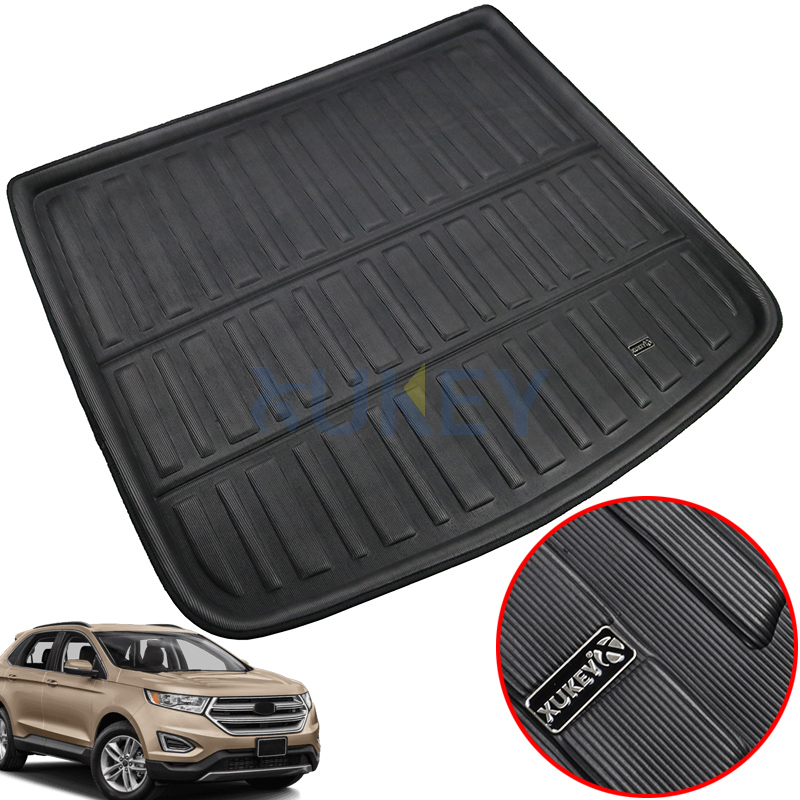 Floor Mats Accessories Fit For Hyundai Sonata Sedan 2015 2016-2018 Rear Trunk Cargo Mat Tray Boot Liner Floor Carpet Protector Mud Kick Pad