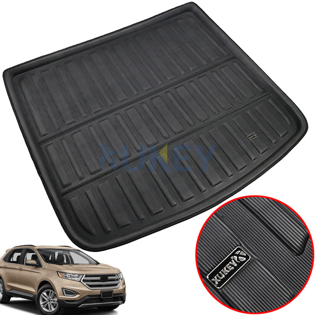 Accessories Fit For Ford Edge  Rear Trunk Liner Boot Cargo Mat Tray