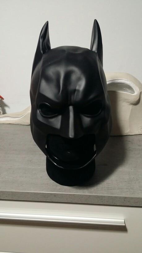 Batman Soft Helmet Action Figure 1/1 scale painted figure Cosplay Batman Soft Helmet To Children Doll PVC ACGN figure Toy 21CM