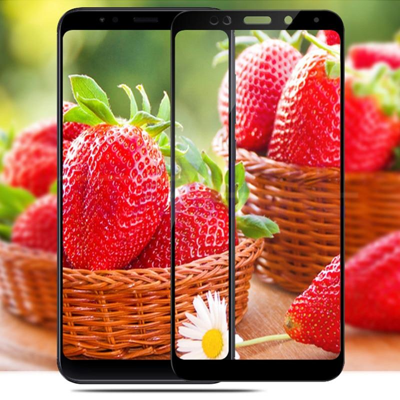 Tempered-Glass-For-Xiaomi-Redmi-5-Redmi-5-Plus-9H-Full-Cover-Screen-Protector-For-Redmi5