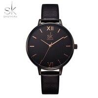 Shengke Fashion Wrist SK Top Brand Luxury Women S Watches Elegant Leather Ladies Watch Women Watches
