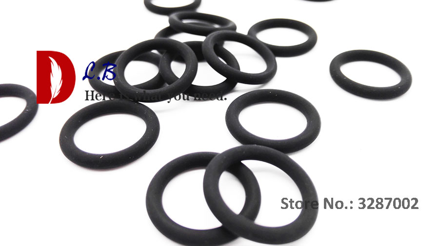 Nitrile Rubber O-Rings 70A Shore Hardness 22mm OD Pack of 10 15mm x 3.5mm