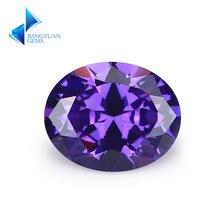 Размер 2x3 ~ 13x18 мм овальная форма a07 фиолетовый цвет 5А