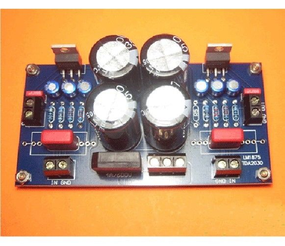 No Low Noise OCL Or BTL Circuit TDA2030 Amplifier Board