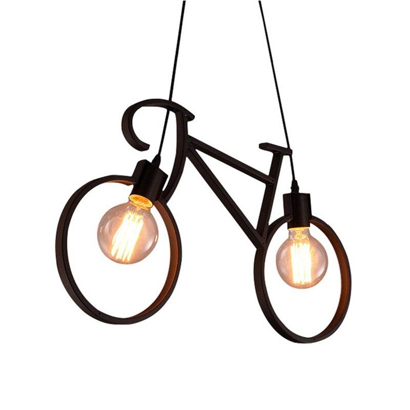 Forma Biciclette Lampadari In Ferro depoca LOFT Bianco Nero Lampadario Camera Da Letto Lampade SoggiornoForma Biciclette Lampadari In Ferro depoca LOFT Bianco Nero Lampadario Camera Da Letto Lampade Soggiorno