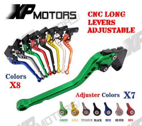 CNC Long Adjustable Racing Brake Clutch Levers For Yamaha YZF R1 1999 2000 2001 (6.8 inch ) 6 colors cnc adjustable motorcycle brake clutch levers for yamaha yzf r6 yzfr6 1999 2004 2005 2016 2017 logo yzf r6 lever