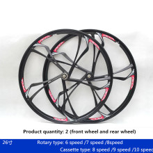 Wheel-Set Bicycle-Wheel Mountain-Bike Magnesium-Alloy 26inch And Bearing Cassette-Type