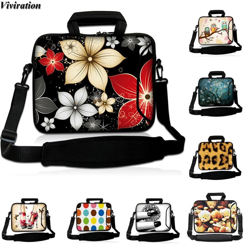 Viviration Stylish Beautiful Pack Handbag Messenger Laptop Bag 10.5 10.2 10.1 9.6 9.7 10 Inch Tablet Cover Ladies Birthday Gift