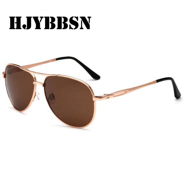 HJYBBSN 2018 Mais Novo de Design Da Marca Óculos De Sol Dos Homens  Polarizados Armação De 386cd3312f