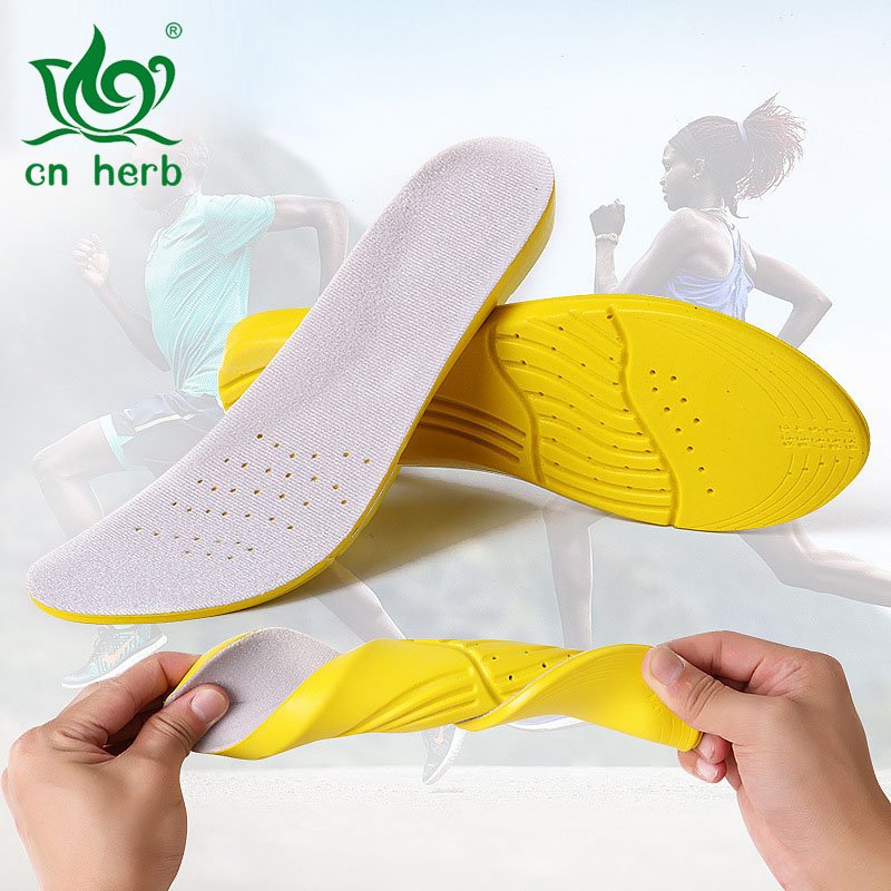 Pu Breathable Sports Insole With High Elastic Cushioning And For Men Women