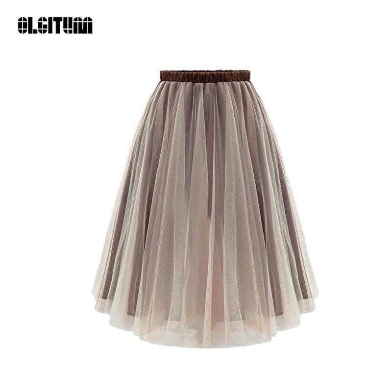 396c64fed5c7 2018-Fashion-Summer-TuTu-Skirt-Elegant-Women-Wild-Elastic-Waist -Pleated-Mesh-Skirts-Women-Plus-Size.jpg