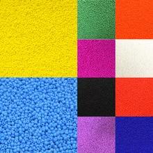 Распродажа 1000 шт бусины Свободные Круглые бусины для изготовления ювелирных изделий модные креативные красочные DIY бусины аксессуары