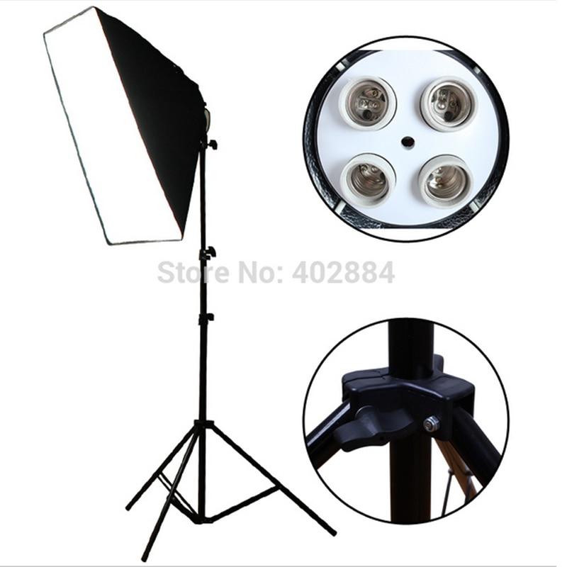 Yuguang Fotografisk 100-240v Fire-Socket-Lampholder med Kontinuerlig - Kamera og foto - Foto 3