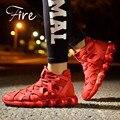Nuevos zapatos deportivos de Moda de ocio transpirable pie amantes de los Zapatos ocasionales de Los Hombres Atléticos zapatillas planas zapatos de hombre