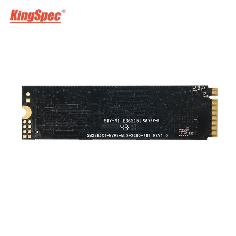 KingSpec M.2SSD PCIe 128GB 256GB 512GB disque dur SSD M.2 2280 NVMe pcie SSD disque dur interne PCI Express pour PC portable