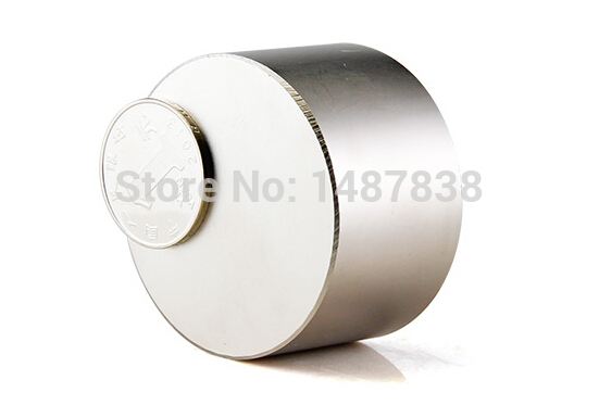 1 pcs Dia. 50x30 mm Jewery magnet NdFeB Disc Magnet Neodymium Permanent Magnets Grade N38 NiCuNi Plated Axially Magnetized qs 3mm216a diy 3mm round neodymium magnets golden 216 pcs