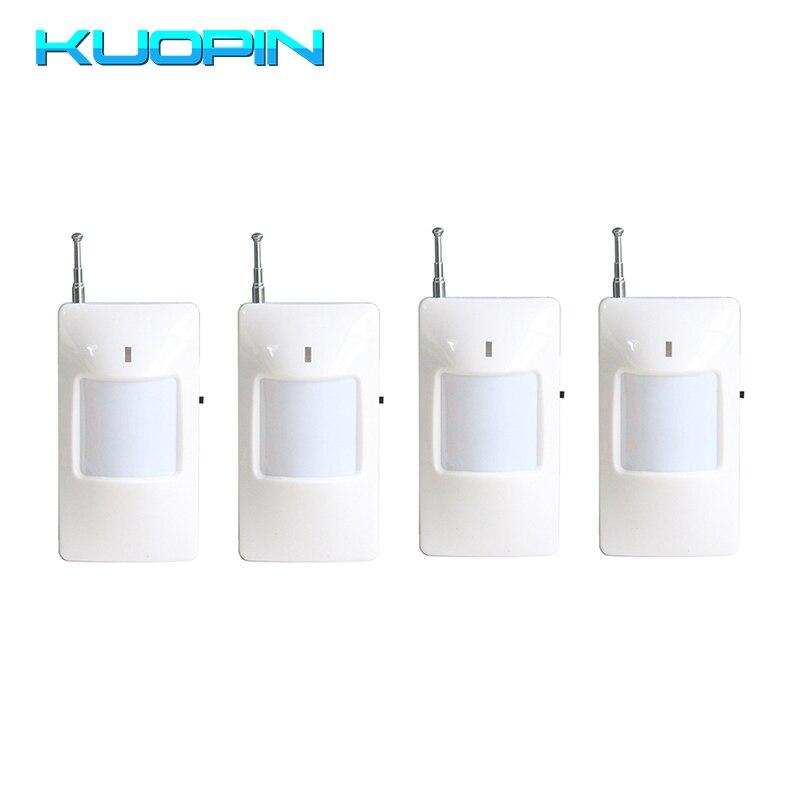 315/433MHz Opcional Sem Fio PIR Motion Sensor Infravermelho Passivo Detector de Alarme Para Sistema de Alarme da Segurança Home do Assaltante GSM kits