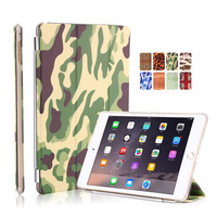 protective cover For iPad camouflage protective cover For ipad6 camouflage design marble painting sleeping leather case
