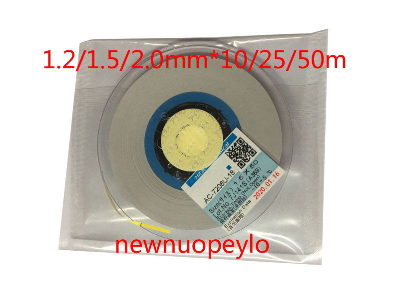 Nieuwe Datum Acf AC 7206U 18 Tape Voor Lcd Scherm Reparatie 1.2/1.5/2.0 Mm * 10 M/25 m/50 M Originele Lcd Anisotrope Geleidende Acf Film-in Tape van Woninginrichting op