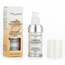 30ml Color Changing Liquid Foundation Primer Makeup For Your Skin Tone By Just Blending Fond