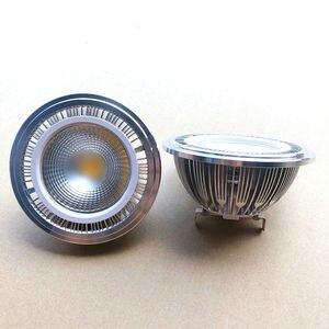 Image 2 - Kısılabilir 15w COB LED G53 AR111 lamba AC85V 265V GU10 AR111 spot sıcak beyaz soğuk beyaz Ücretsiz Kargo