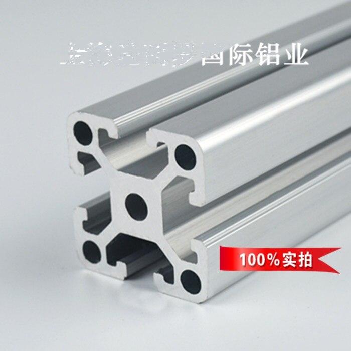 6 unids L1000mm 4040 W perfil de aluminio puerta ventana Marco ...
