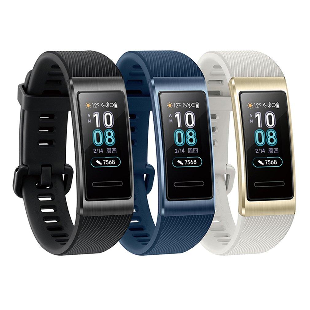 Huawei Band 3 Pro Band 3 Bracelet intelligent bande 3 0.95 pouces Tracker natation étanche Bluetooth Fitness Tracker écran tactile