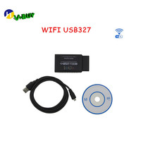 New Update ELM327 WIFI USB ELM327 WIFI+USB Scanner Diagnostic Tool ELM 327 Wifi OBD ii Support Android /for IPHONE/IPAD/IPOD