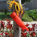 10PCS AOTU 5-in-1 Survival Whistle Multi-Use Outdoor Emergency Tool - Orange