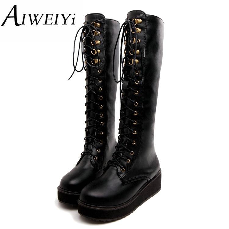 Online Get Cheap Black Punk Boots -Aliexpress.com   Alibaba Group
