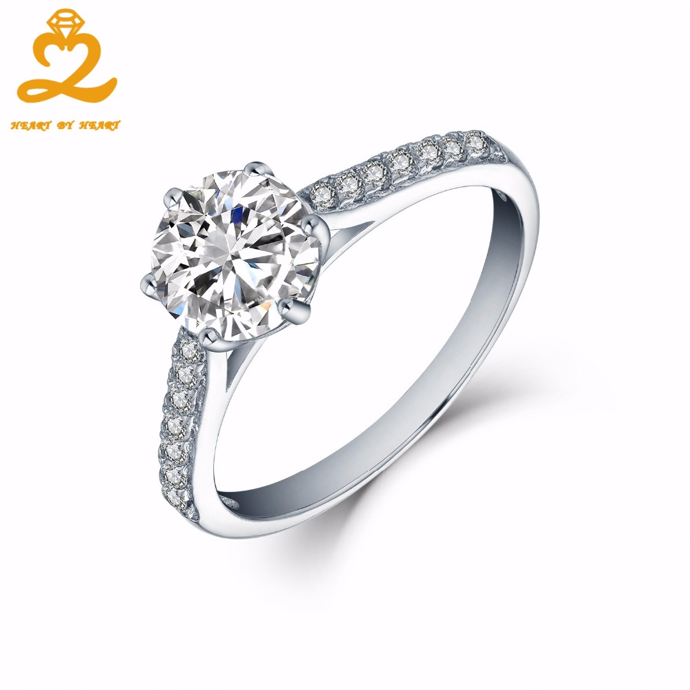 Heartbyheart Wholesale 925 Silver Ring Sets For Women Couple Romantic Wedding Bands Fine Jewelry Custom Big Topaz Gemstone Rings: Sy Women Wedding Ring Sets At Websimilar.org