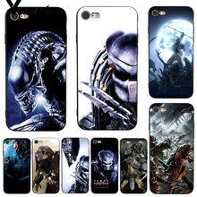Yinuoda For iphone 7 6 X Case Alien vs Predator Video Game Elegant Phone Case for iPhone 7 6 X 8 6s Plus 5 5S SE 5C Cases чехол с новогодним принтом для iphone 5c 5 5s se 6 6s 7 plus 8 x