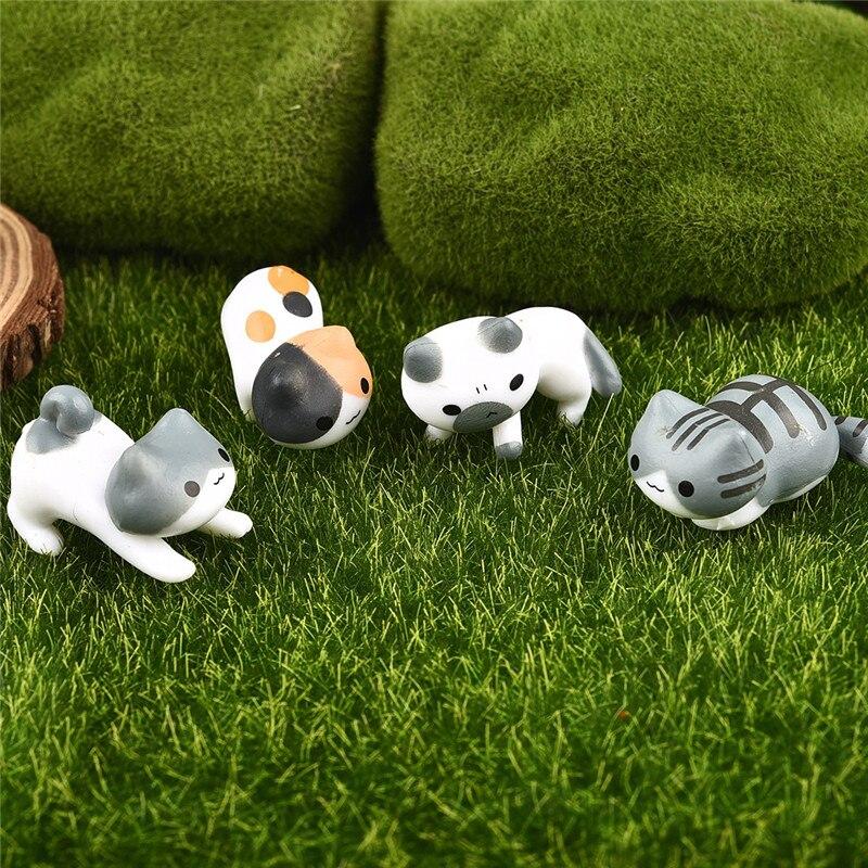 Cat Fairy Decorative Garden Landscape Micro Figurines