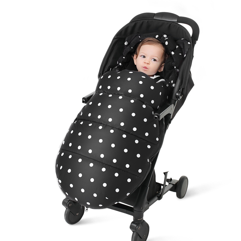 Baby Stroller Accessories Cotton Foot Cover Warmer Winter Thick Warm Zipper Sleep Sack Sleeping Bag Footmuff baby stroller foot cover baby sleeping bag newborn warm cotton sleeping bag trolley dedicated