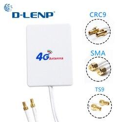 Antena externa do cabo 3g 4g lte de dlenp 3m antenas para a antena do modem do roteador de huawei zte 4g lte com conector ts9/crc9/sma