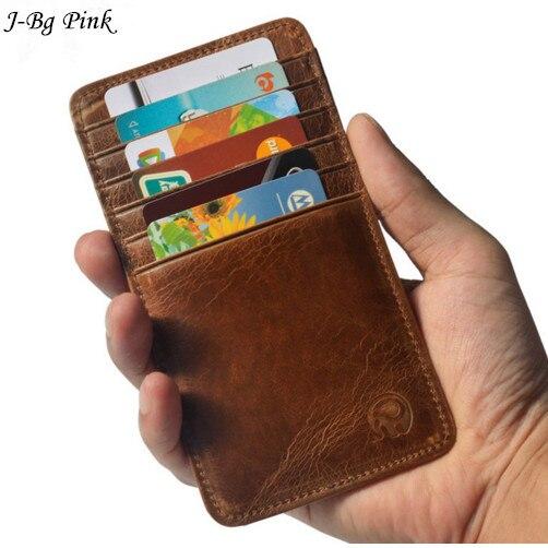 12 Card Módní vzor Muži Ženy Držitel kreditních karet Business Držák ID pravého kůže Pevný držitel karty Porte Carte