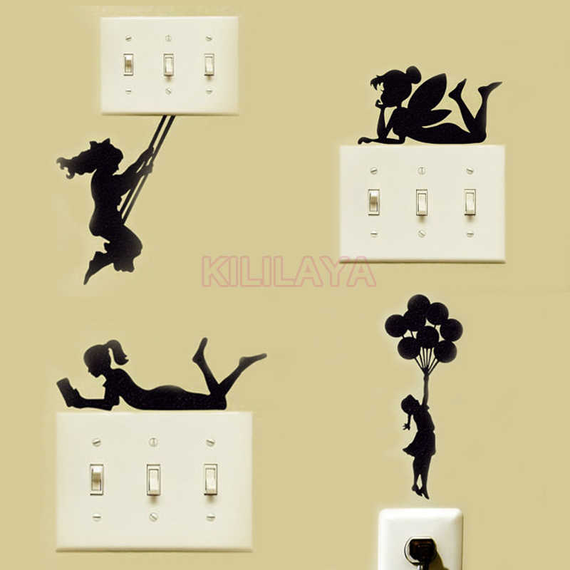 detail feedback questions about 4pcs tinkerbell fairy girls switch