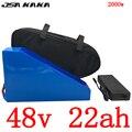 Аккумулятор для электрического велосипеда  48 В  1000 Вт  1500 Вт  2000 Вт  48 В  22 Ач  литиевая батарея 48 В  22 ач с зарядным устройством 54 6 в  5 А + сумка  б...