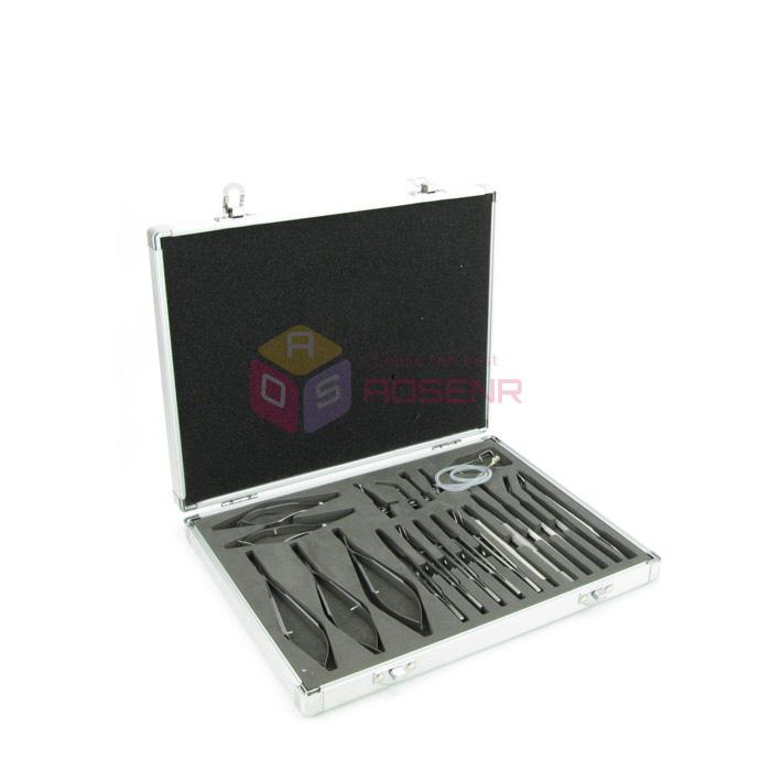 21PCS NEW Stainless Steel Eye Ophthalmic Cataract